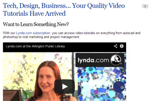 Lynda video thumbnail